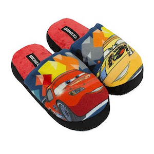 Zapatillas Disney terciopelo Cars