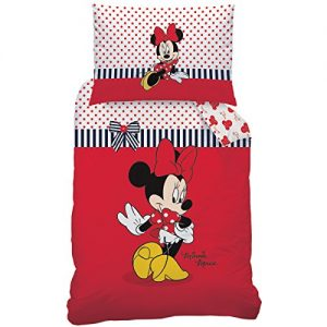 Disney-Minnie-044001-Sweetie-de-cama-algodn-renforce-160-x-210-65-x-100-cm-0
