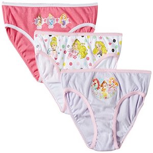 Pack 3 Bragas Princesas Disney