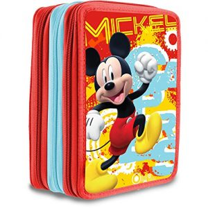 Plumier-Mickey-Disney-triple-0