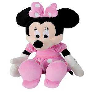 Simba-6315879078-Disney-Mickey-Mouse-Club-House-Basic-Peluche-de-Minnie-43-cm-0